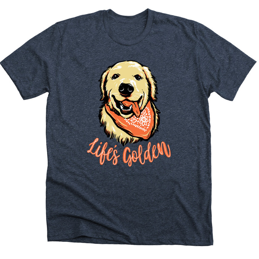 6dc0e18bf87e Turn photographs you love into amazing t-shirt designs by having a designer  create a vector illustration based on the photo. This photo of Oshie the  Golden ...