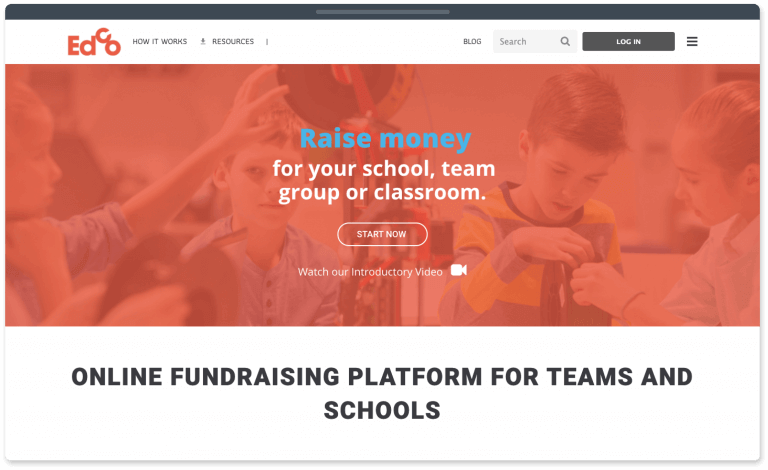 EdCo is the best team and school fundraising site.
