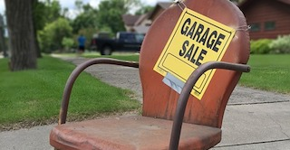 Garage sales are easy fundraising ideas with big returns.