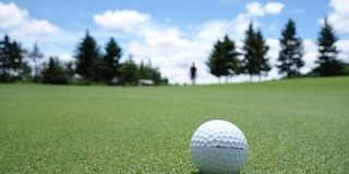 Nonprofits can organize a golf tournament as a fundraising event idea.