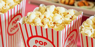 Your school can sell popcorn as a fundraising idea that's quick and easy.