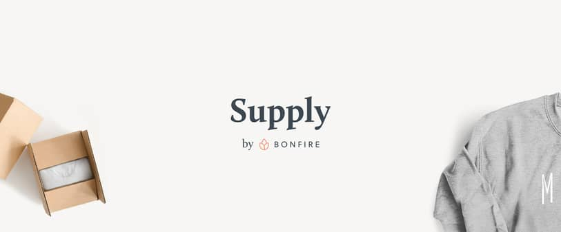 Supply by Bonfire is a perfect way to make sure you're all stocked up on custom event t-shirts!