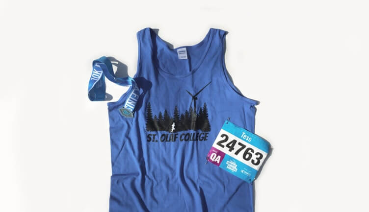 Create a design for your race t-shirt that unites your whole 5k group!