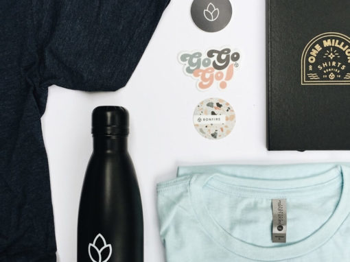 Custom t-shirts are a great addition to any of your swag bag ideas!