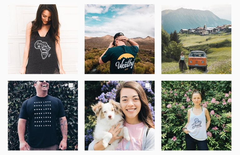 Check out our favorite custom printed t-shirt designs on Instagram!