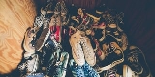 Trade unwanted shoes for revenue as a great church fundraising idea.