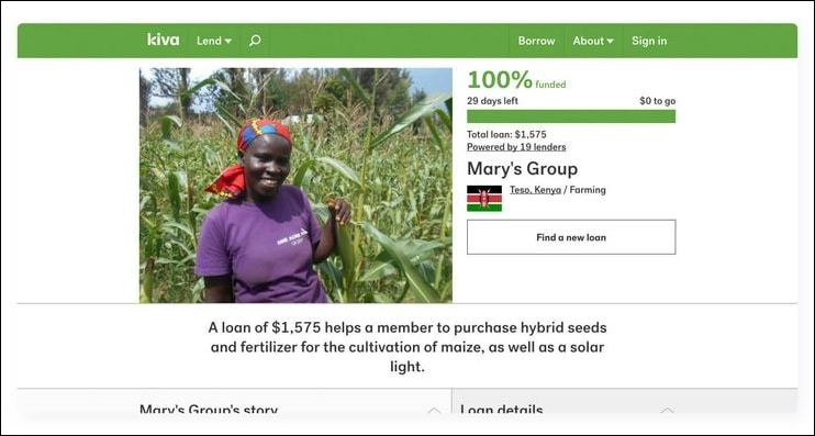 Kiva is one of the very best fundraising websites for microlending and global philanthropy.