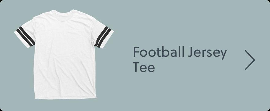 Football Jersey Tee