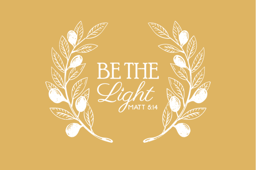 Be the Light adoption saying
