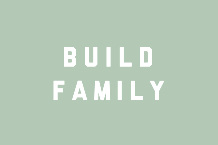 Build Family adoption saying