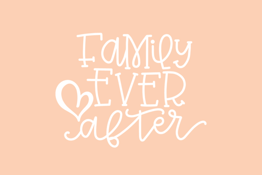 Family Ever After adoption quote