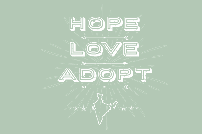 Hope, Love, Adopt adoption quote