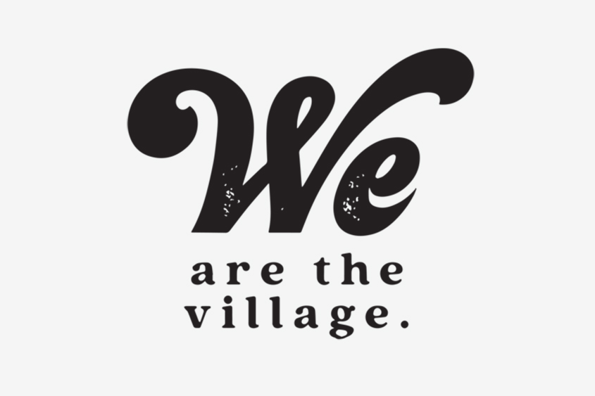 We Are the Village adoption quote