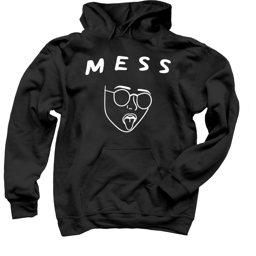 The MESS hoodie created by Jess and Mclane