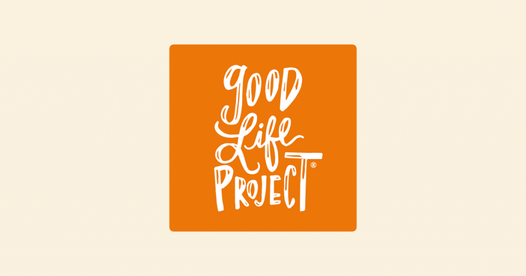 Good Life Project nonprofit podcast artwork and logo