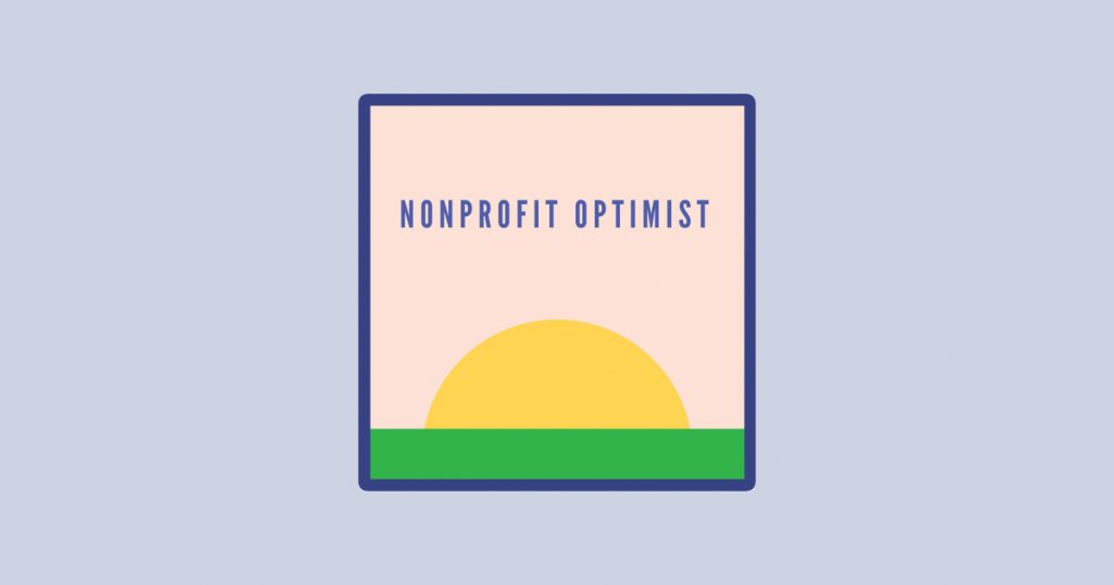Nonprofit Optimist podcast artwork and logo