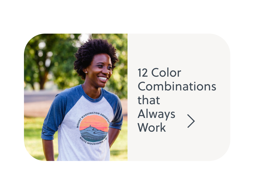 T-shirt color combinations that always work.