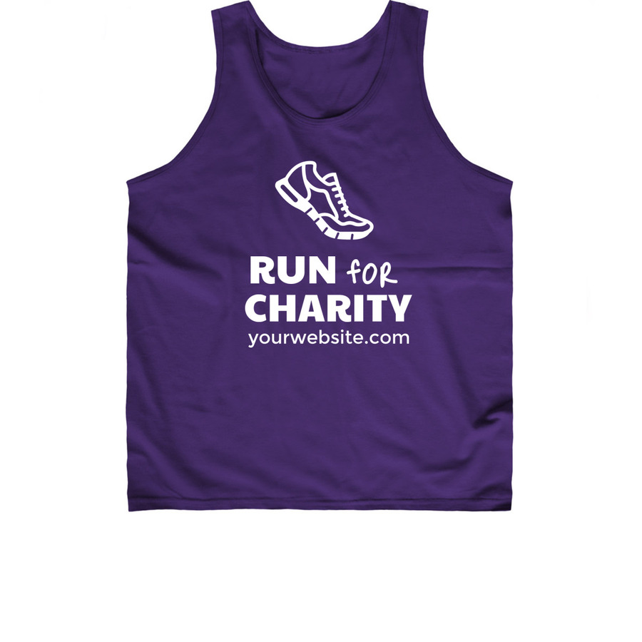 Charity run 5k t shirt design template