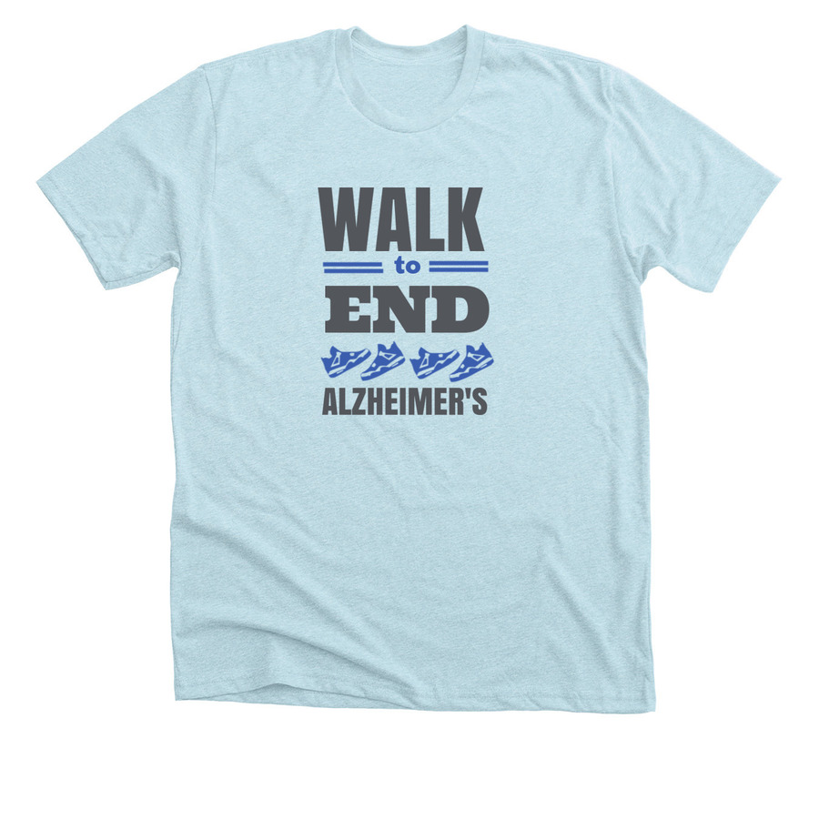 Walk for charity t-shirt design template