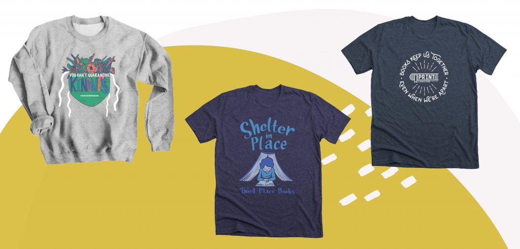 Get creative and add some custom elements to your businesses fundraising shirt