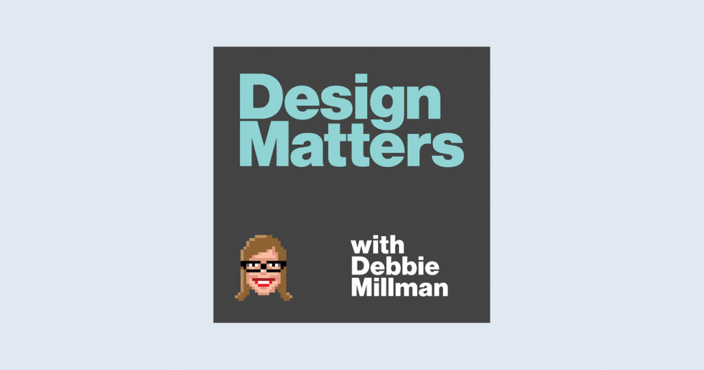 Design Matters podcast artwork and logo