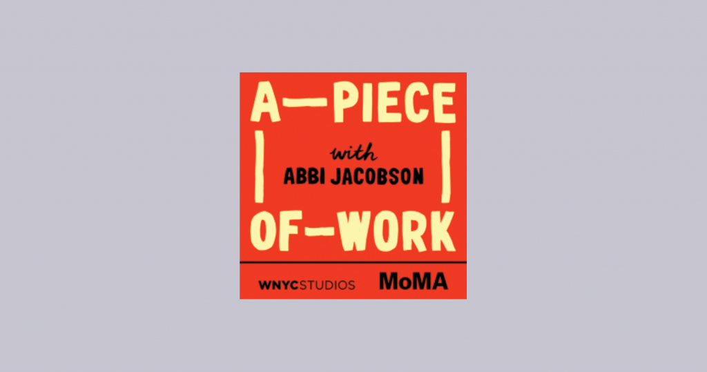 A Piece of Work podcast artwork and logo