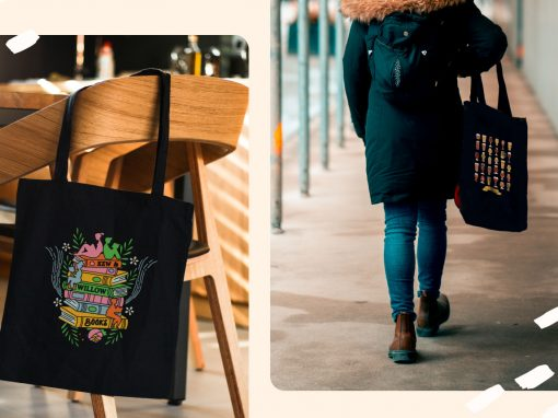 how to design a tote bag