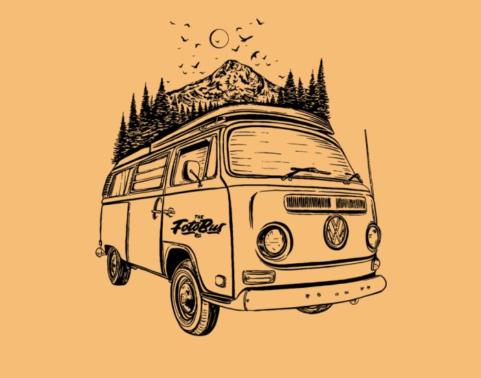 Mt. Hood Vanlife winner of best design for a small business