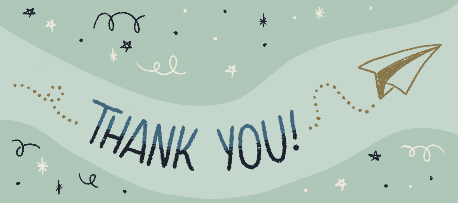 thank your supporters at the end of your face mask fundraiser