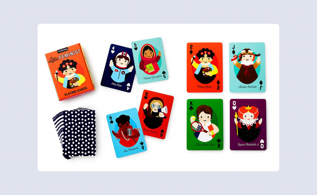 The Little Feminist Playing Cards.