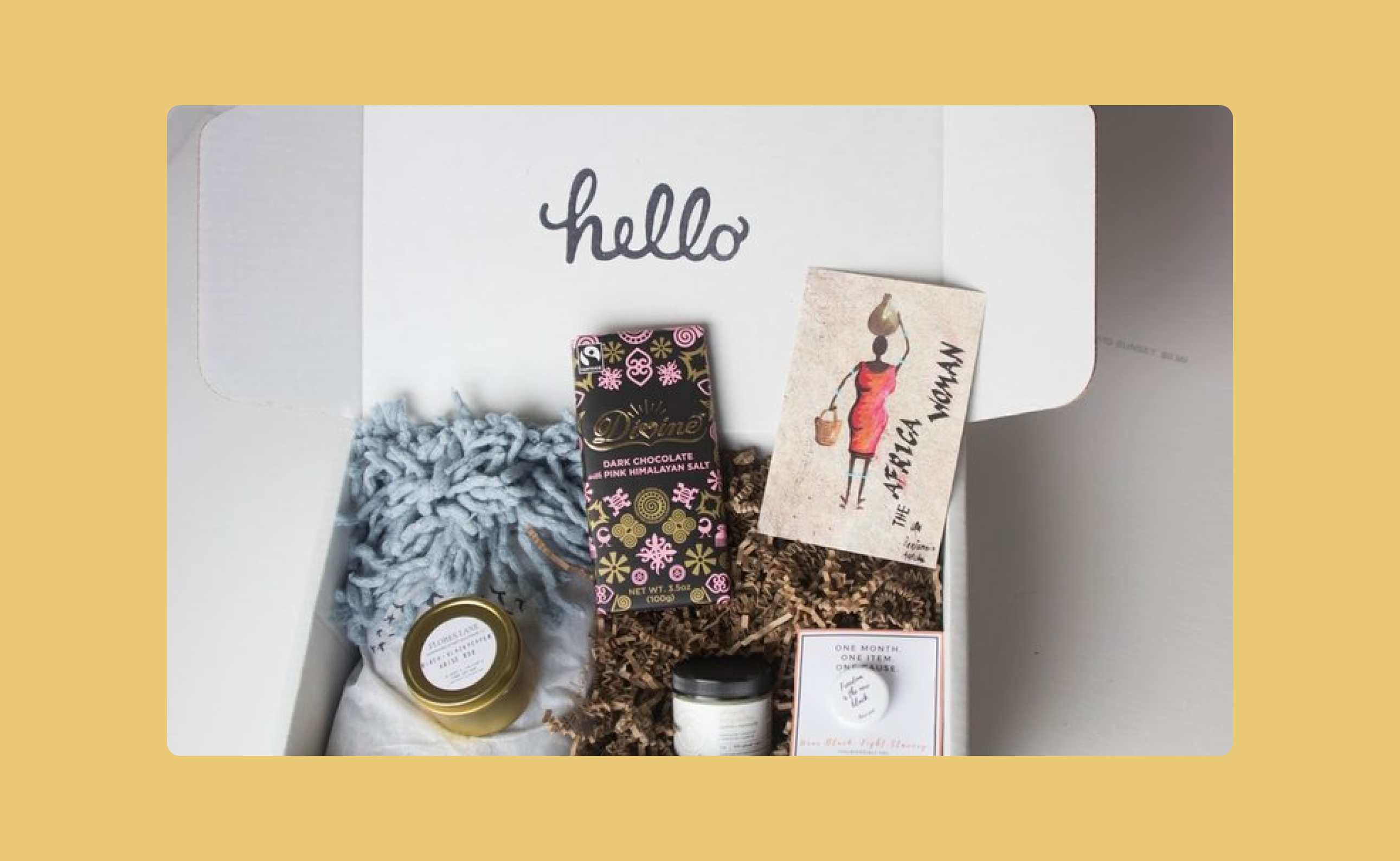 The Arise Box is a monthly subscription box that's working to fight human trafficking.