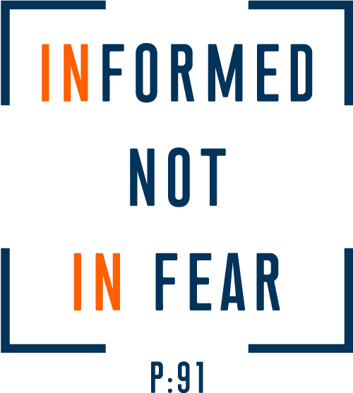 The It Informed Not In Fear t-shirt design created by Jor él Quinn.