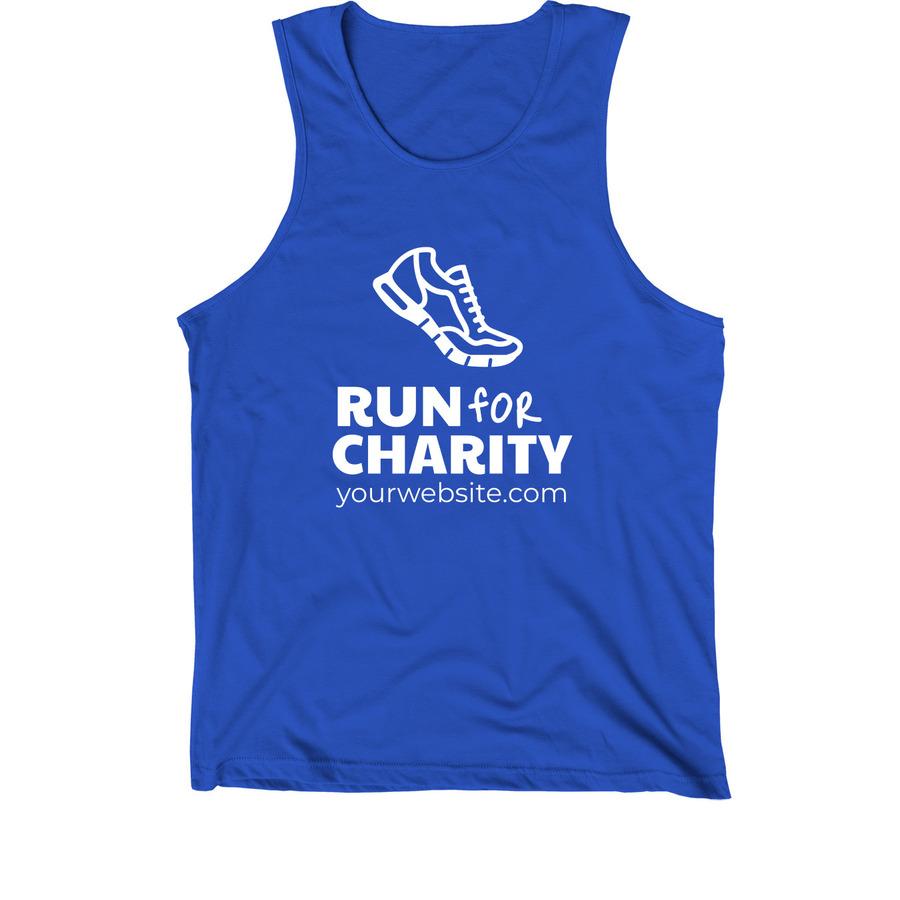 Charity run 5k t shirt design template