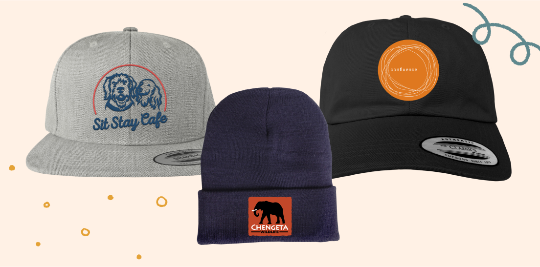 Design your hat with your organizations logo.