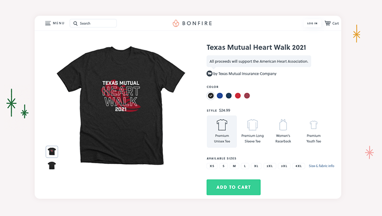 Invest in peer-to-peer walkathon technology like Bonfire to raise money for your cause.